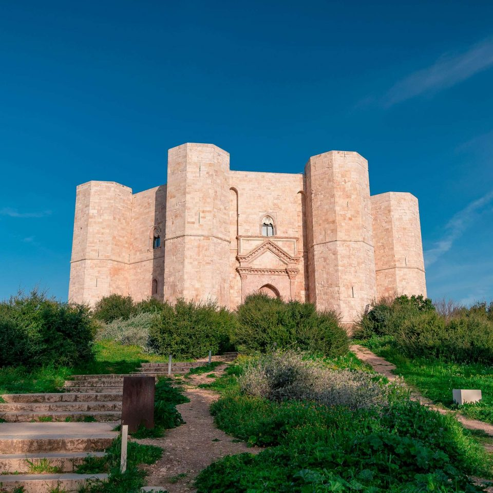 Panoramic view of Castel del Monte | National Park of Alta Murgia