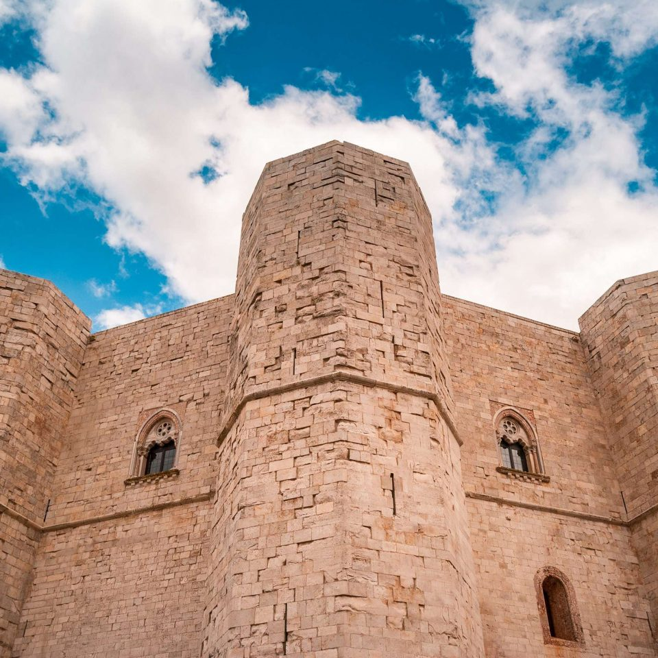 Detail of Castel del Monte | National Park of Alta Murgia