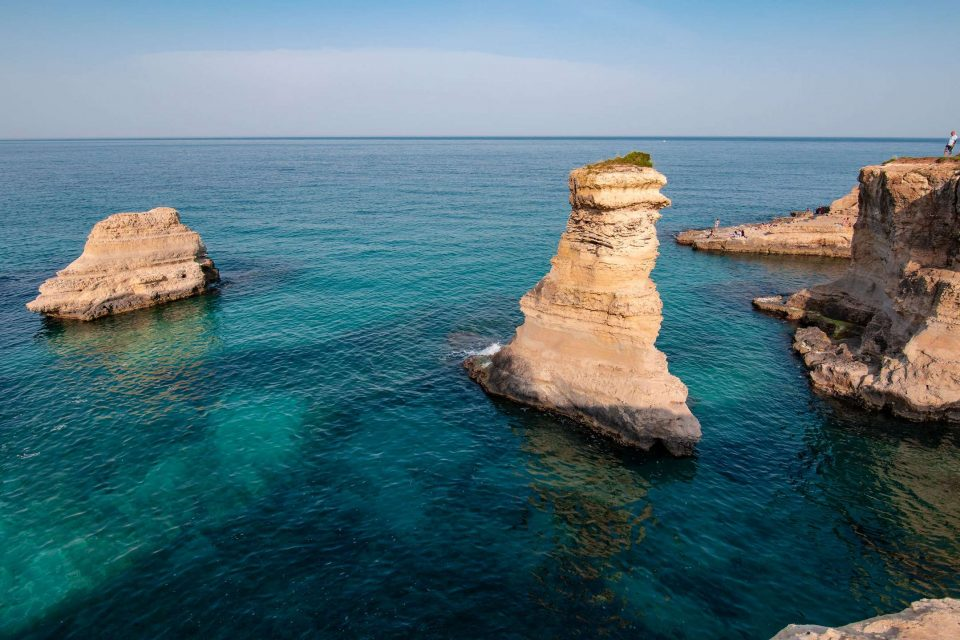 Sea stacks of Sant'Andrea | Melendugno Puglia