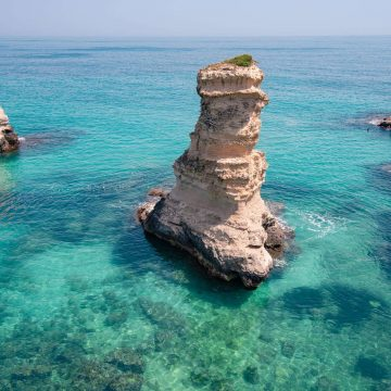 Sea stacks of Sant'Andrea