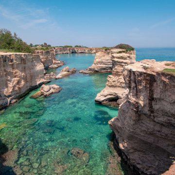 Sea stacks of Sant'Andrea