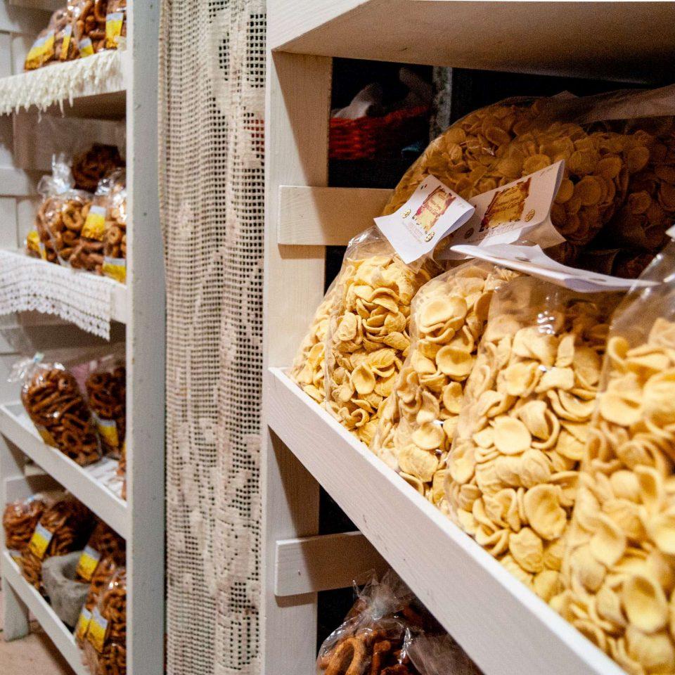 Orecchiette and local food made in Altamura, Alta Murgia National Park