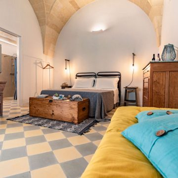 Cozy charming rooms at the B&B in Puglia Corte dei Furesi | Salento
