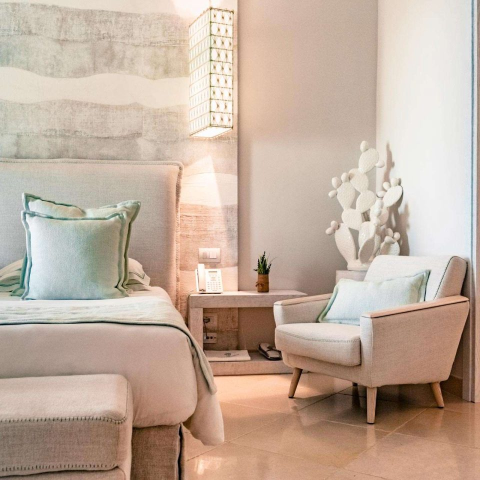 Detail of one of the luxury suites in Polignano a Mare at San Michele Suite