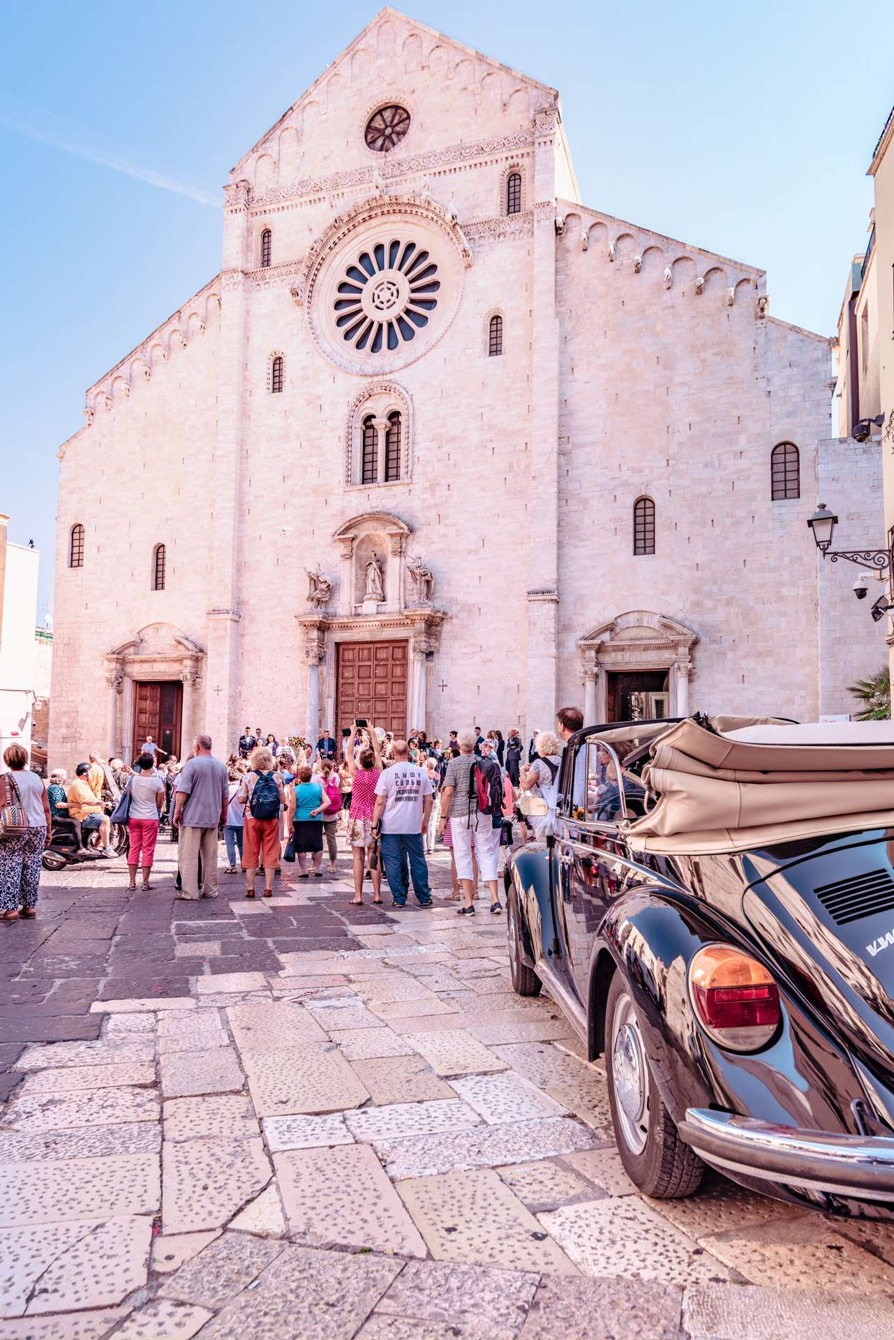Cathedral of San Sabino (Saint Sabinus) in the old town of Bari city.
