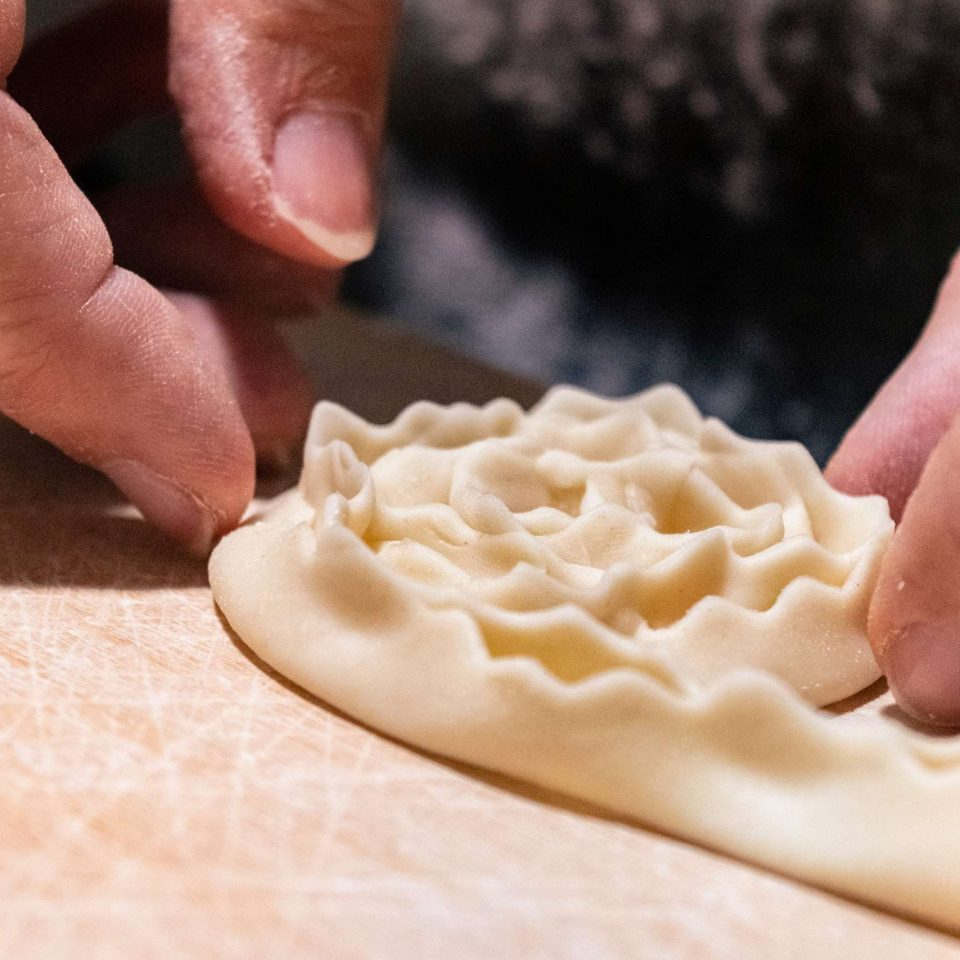 Christmas in Puglia making cartellate