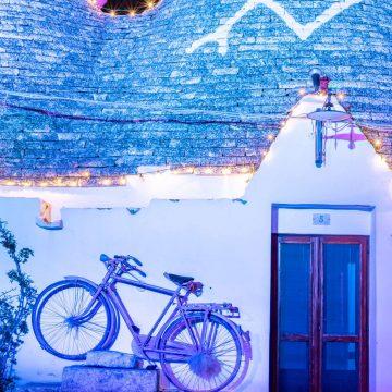 Christmas lights in Puglia
