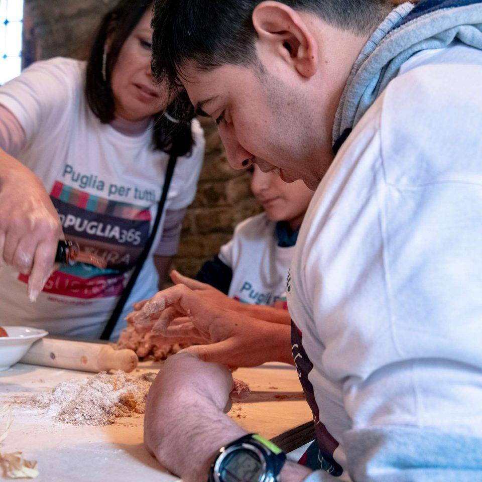 Cooking class in Bovino with Puglia senza ostacoli.