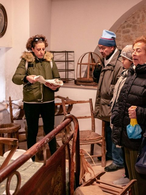 Disabled friendly guided tours with Puglia senza ostacoli at the museum.