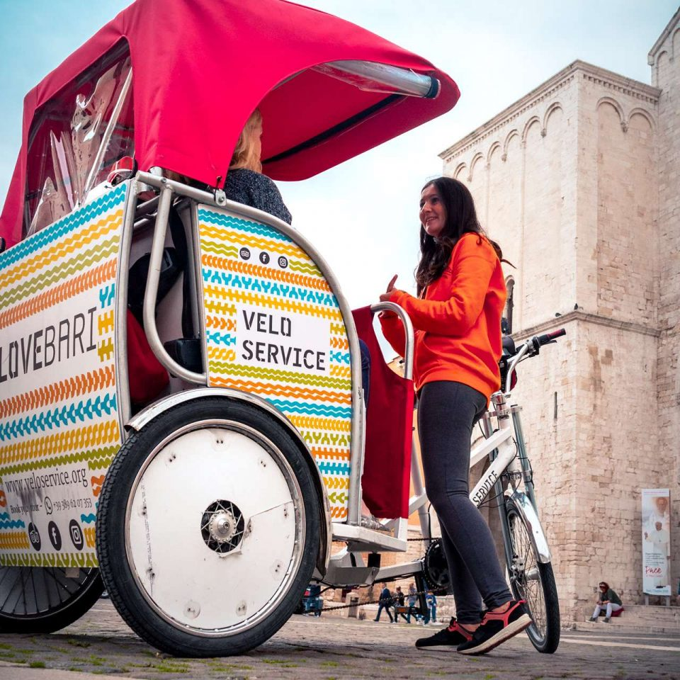 A Puglia tours guide from Velo Service