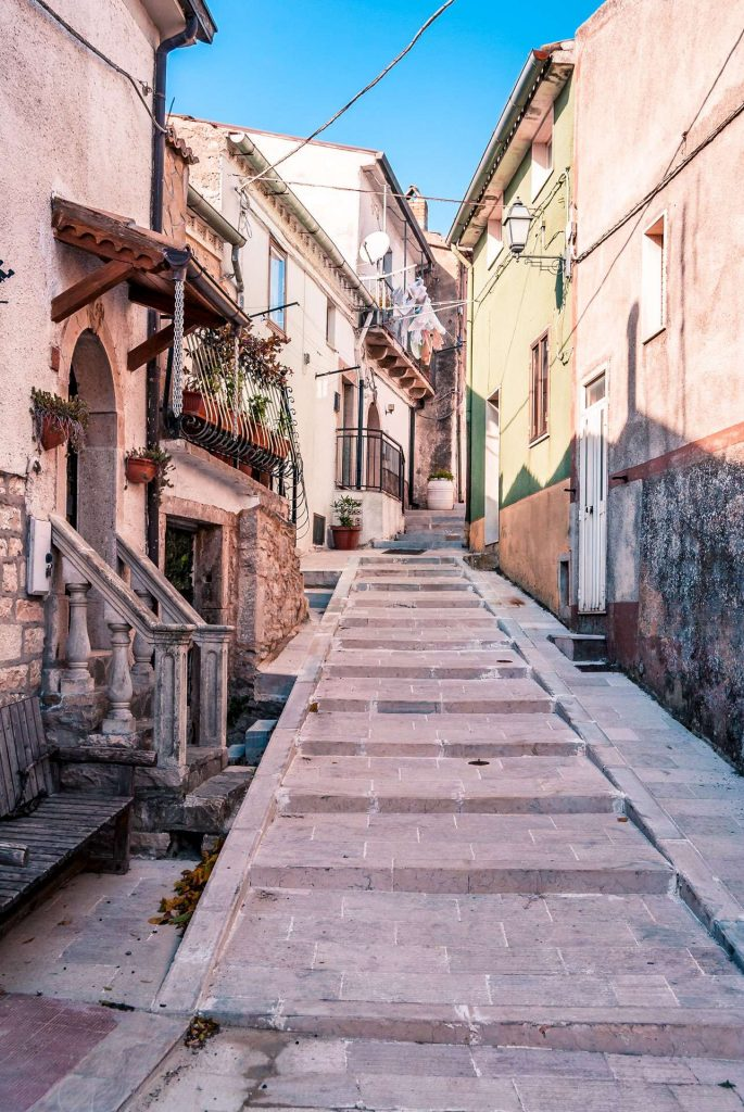 A street in Celle San Vito | Explore Puglia and Daunia Mountains