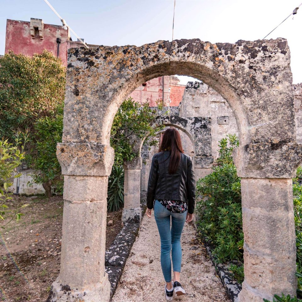 A walk in the rural park of Masseria Spina Resort in Puglia