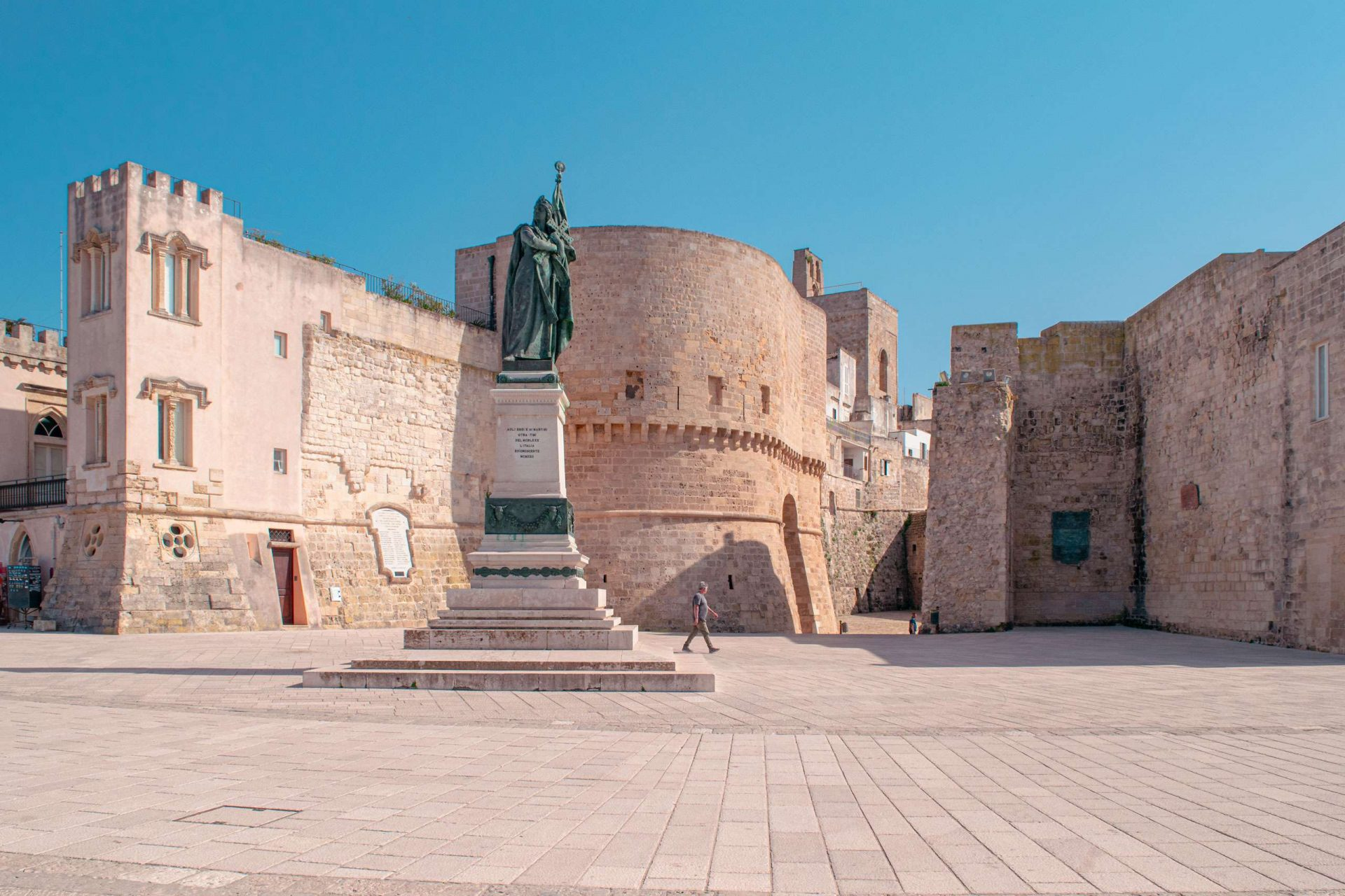 Otranto Castle - stop-over of Road Trip in Salento