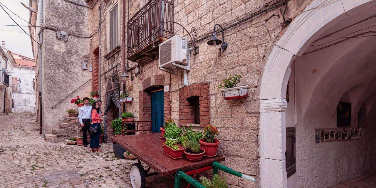 Pane e salute bakery in Orsara di Puglia