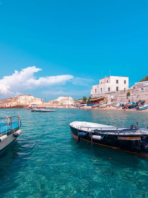 Boats at the San Nicola Island | Tremiti Islands | Puglia