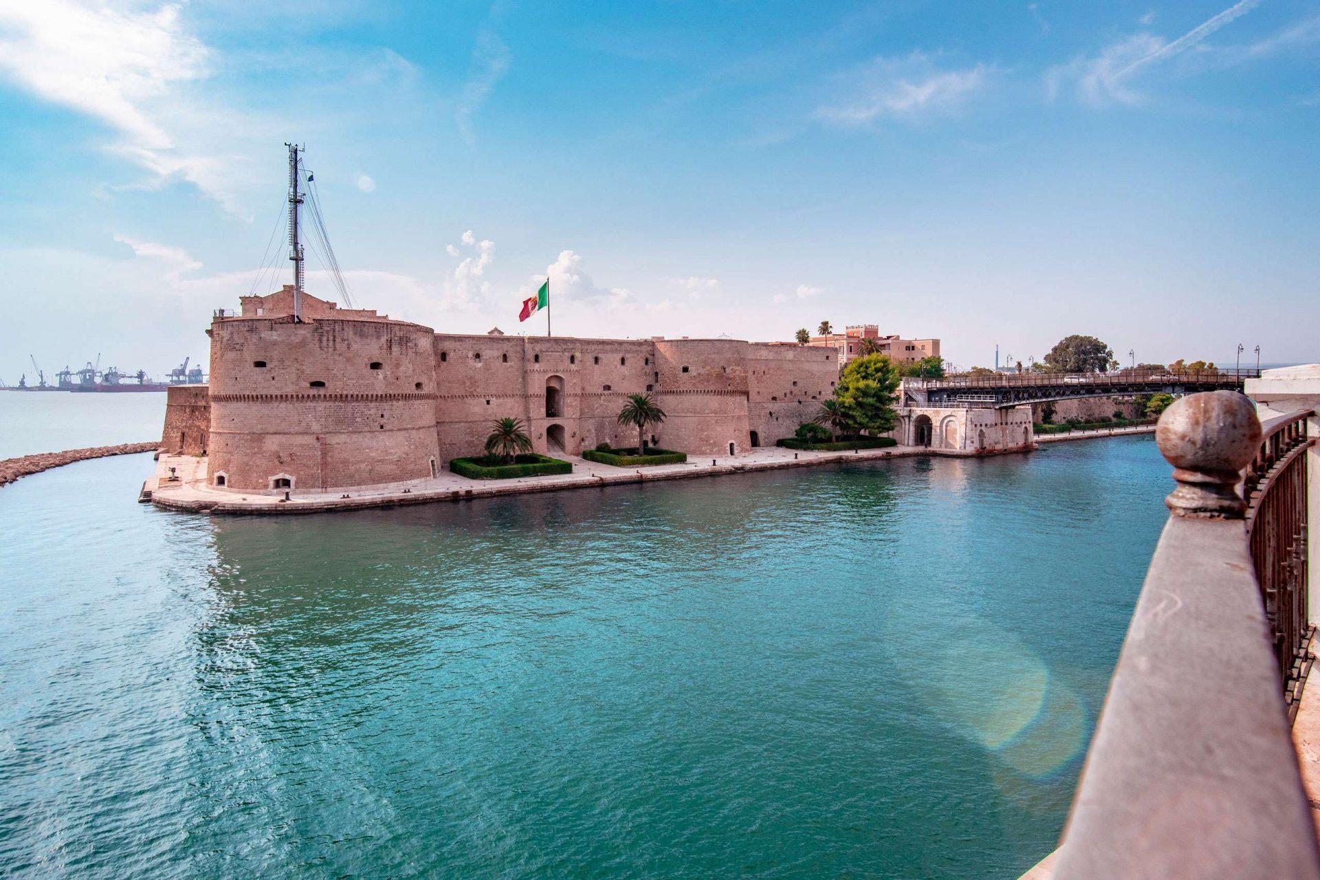 Castles in Puglia - aragonese Castle of Taranto - Imperial Apulia