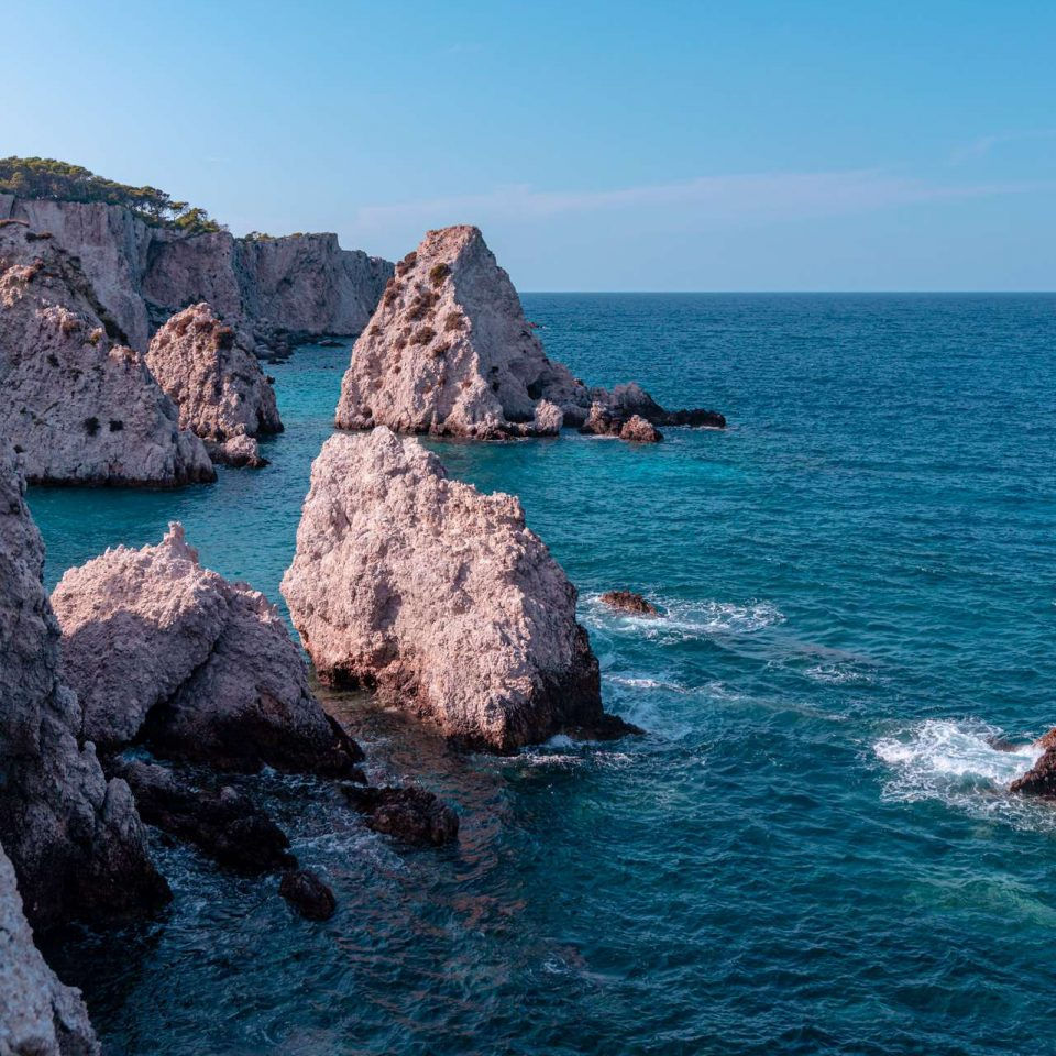Rocks around San Domino Island | Tremiti Islands | Puglia